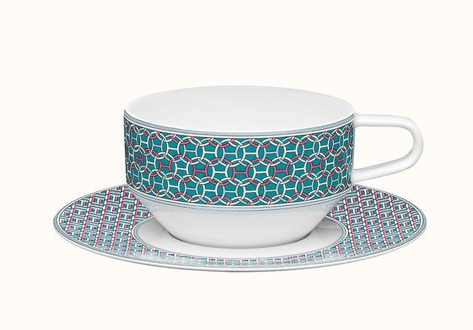 "Tie Set tea cup and saucer, $295, from [Hermès](https://www.hermes.com/au/en/product/tie-set-tea-cup-and-saucer-P040116P//|target=""_blank""|rel=""nofollow"")"