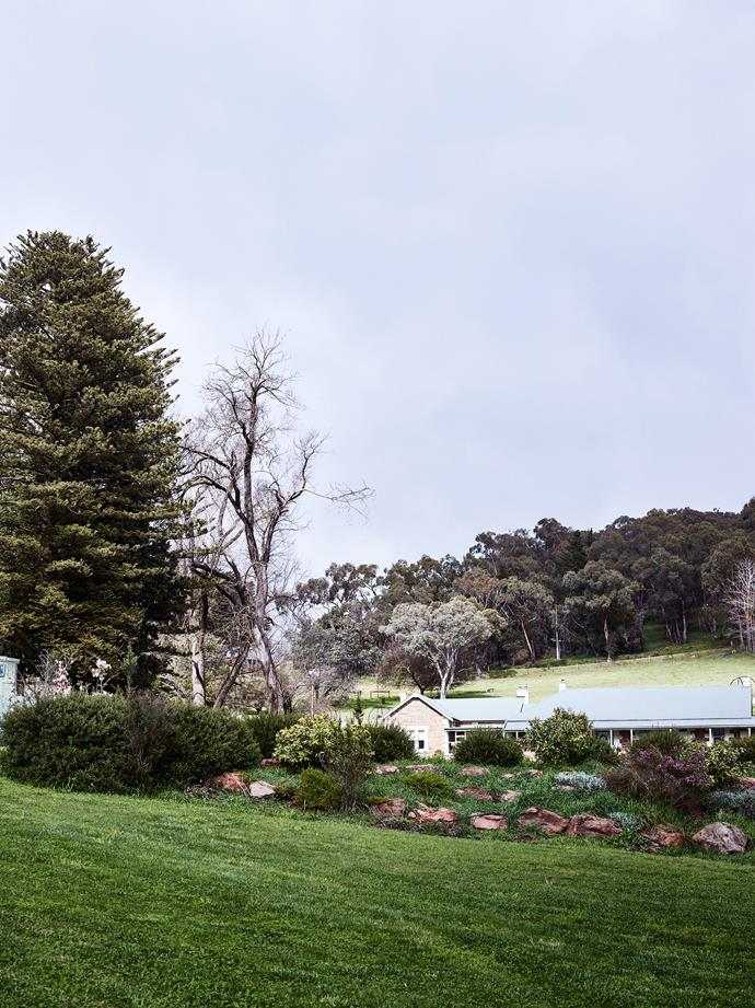 Nether Hill Farm is set over 15 hectares in the Adelaide Hills.