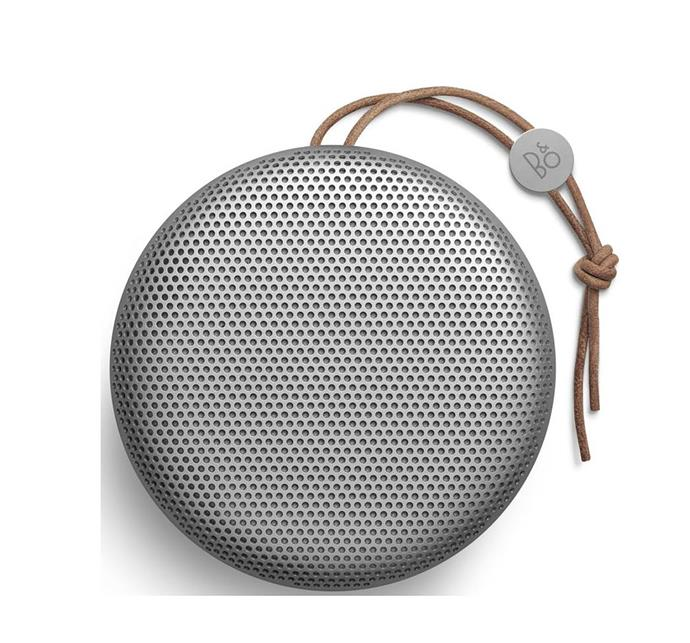 "Bang & Olufsen Beoplay A1 poratable bluetooth speaker, $399, from [JBHi-Fi](https://www.jbhifi.com.au/products/bo-beoplay-a1-portable-speaker-silver/|target=""_blank""|rel=""nofollow"")"