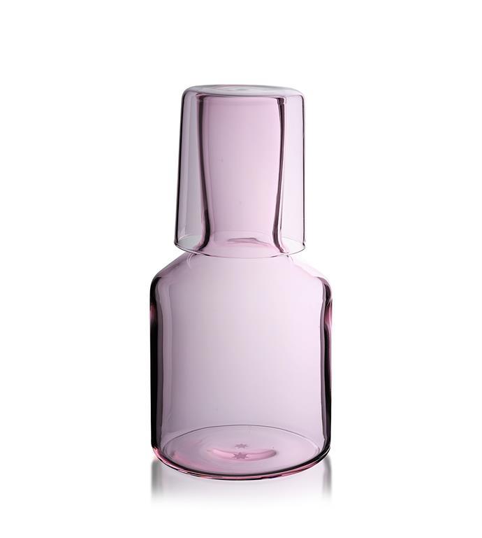 "Maison Balzac J'ai Soif carafe set pink, $79, from [David Jones](https://www.davidjones.com/brand/maison-balzac/22583859/J'ai-Soif-Carafe-Set-Pink.html/|target=""_blank""|rel=""nofollow"")"