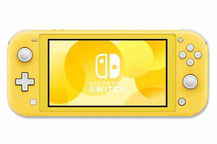"Nintendo Switch Lite console in Yellow, $299, [JB Hi-Fi](https://www.jbhifi.com.au/|target=""_blank""|rel=""nofollow"")."