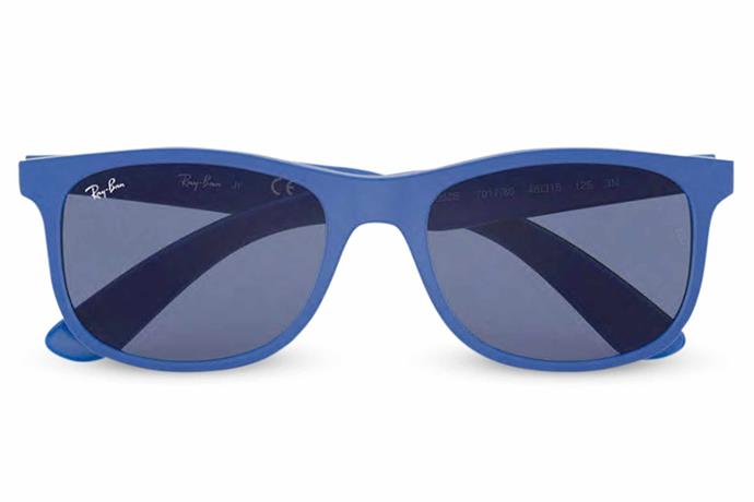 "RJ9062S sunglasses in Blue Classic, $90, [Ray-Ban](https://www.ray-ban.com/australia|target=""_blank""|rel=""nofollow"")."