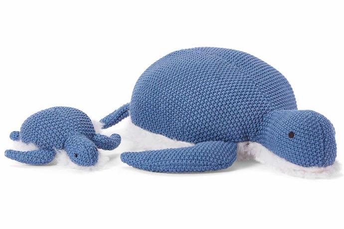 "Toby Turtle soft toy, $44, [Nana Huchy](https://nanahuchy.com.au/|target=""_blank""|rel=""nofollow"")."