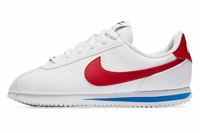 "Cortez Basic SL shoes, $80, [Nike](https://www.nike.com/au/|target=""_blank""|rel=""nofollow"")."