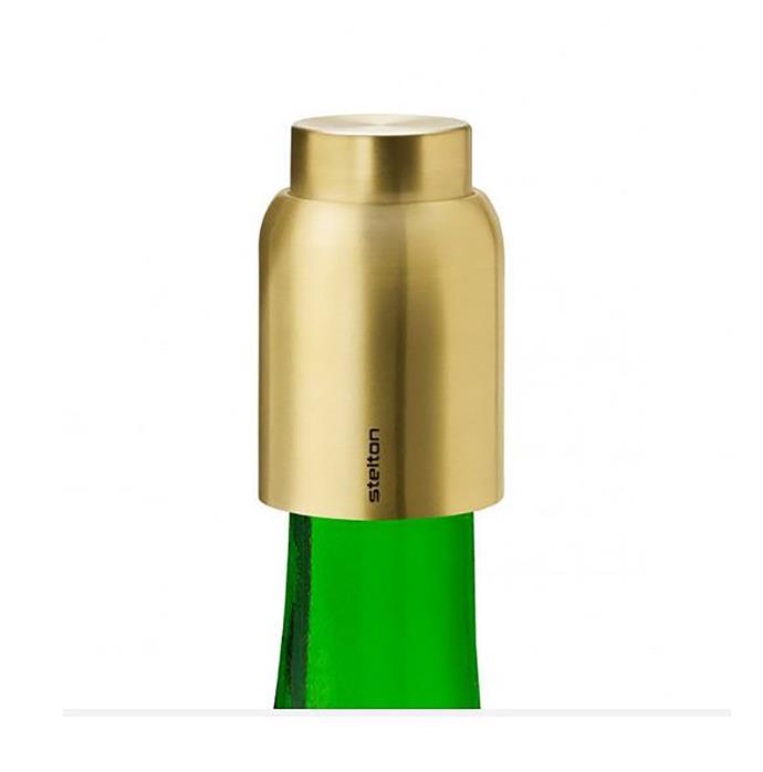 "STELTON collar vacuum seal wine bottle stopper, $69, from [Designstuff](https://www.designstuff.com.au/stelton-collar-vacuum-seal-wine-bottle-stopper-brass//|target=""_blank""|rel=""nofollow"")"