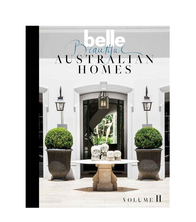 "Belle Beautiful Australian Homes Volume 2, $59.99, from [Magshop](https://www.magshop.com.au/belle-beautiful-australian-homes-2/|target=""_blank""|rel=""nofollow"")"
