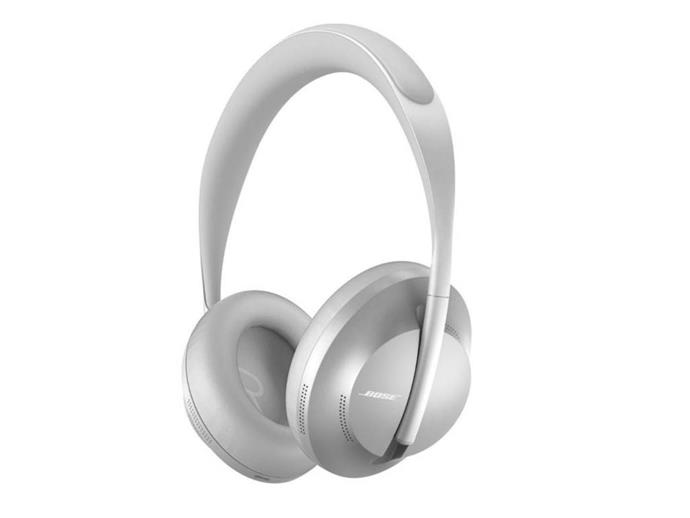 "Bose 700 noise-cancelling headphones, $599.95, from [Bose](https://www.bose.com.au/en_au/products/headphones/noise_cancelling_headphones/noise-cancelling-headphones-700.html#v=noise_cancelling_headphones_700_luxe_silver/|target=""_blank""|rel=""nofollow"")"