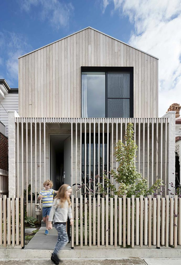 **Home** Growing families need room to breathe and thrive, but the owners of this once-cramped home didn't want to leave their inner-Melbourne patch to do it.