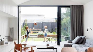 A modern terrace in Brunswick was given a light-filled revamp