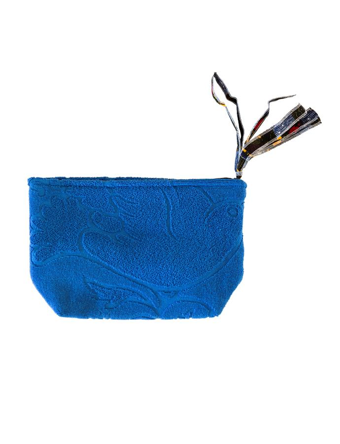 "Lalla Clutch in Cobalt S, $69, [Tigmi Trading](https://tigmitrading.com/products/lalla-clutch-cobalt-s|target=""_blank""