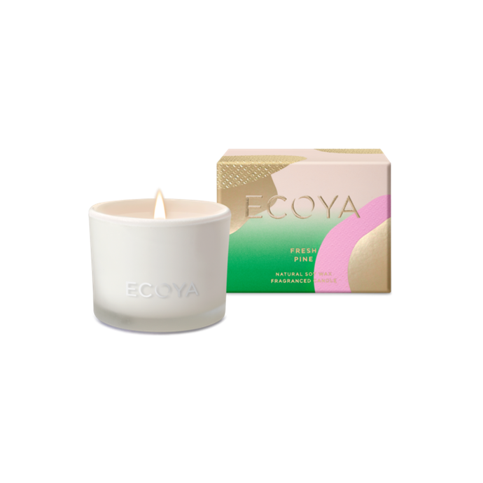 "Fresh Pine candle in Monty Jar, $19.95, [Ecoya](https://www.ecoya.com.au/collections/christmas-collection/products/fresh-pine-monty-jar|target=""_blank""