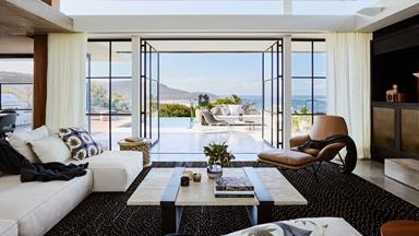 A luxe coastal home with spectacular views