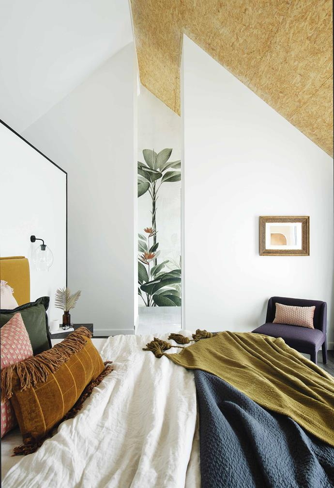 "While not technically an attic conversion, in the creation of this [barn-stye home in Perth](https://www.homestolove.com.au/barn-style-house-19831|target=""_blank"") the design team opted to omit the attic, instead choosing to transform the area into a master bedroom and ensuite that takes advantage of generous ceiling heights."