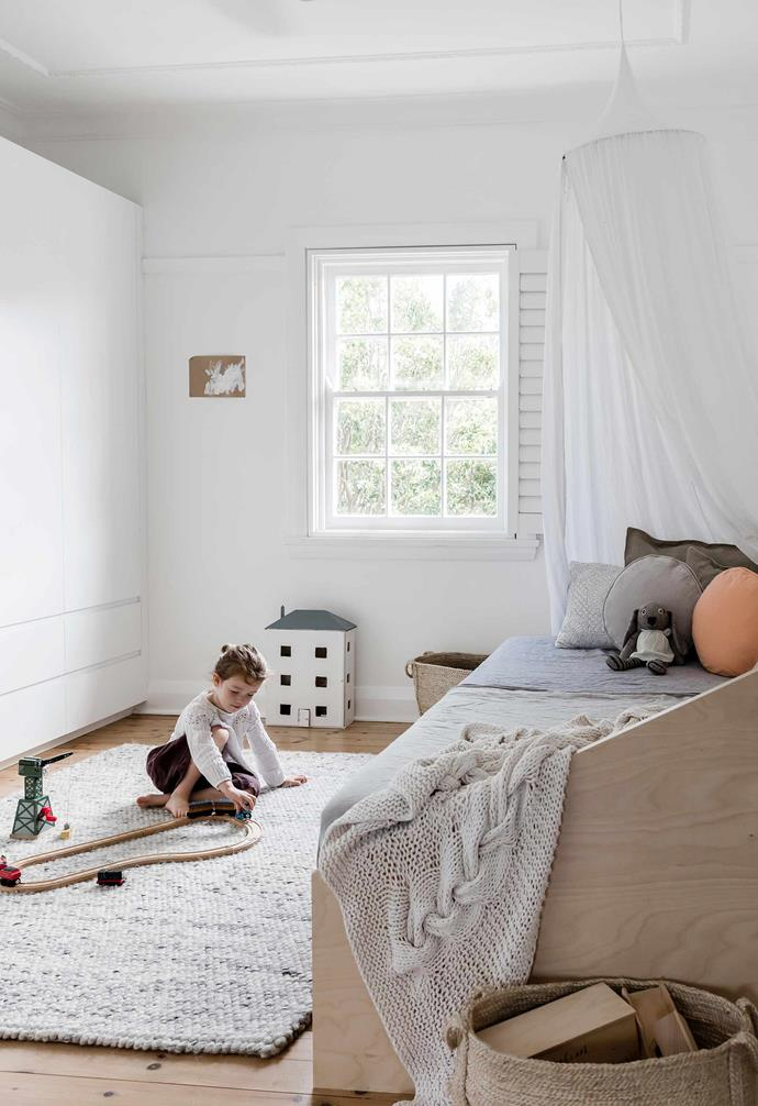 """**Isla's room** Whether it's for rest or play, a woven [Hay](https://hayshop.com.au/
