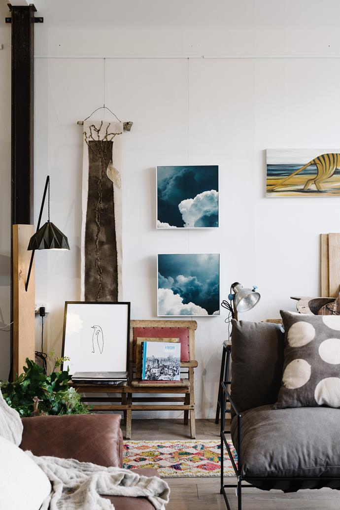 Antiques and paintings are mixed in with the latest homewares at Cocoon Designs in Penguin.