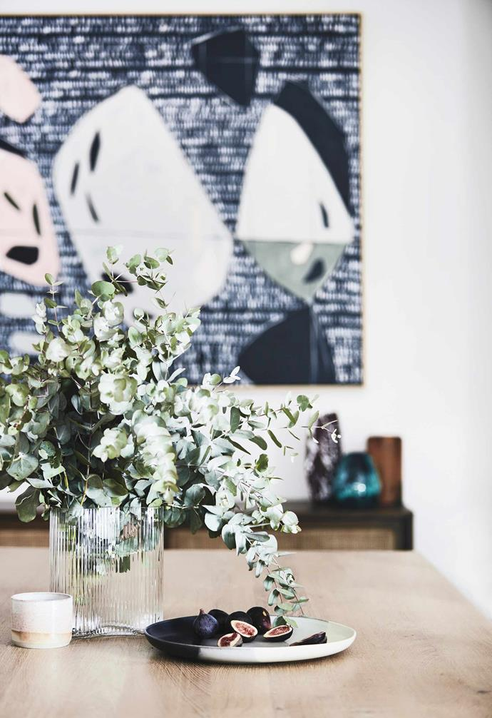 """**Details** Flowers are nice but scented leaves will add spice to your table centrepiece. Aside from being a natural match for the Luxa oak table from [Totem Road](https://www.totemroad.com/ target=""""_blank"""" rel=""""nofollow""""), the leaves have a fresh, pest-repelling scent that's perfect for summer."""