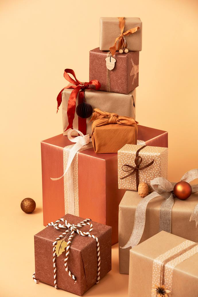 "Craft wrapping paper in Brown, $4.99 for 5m, [Typo](https://cottonon.com/AU/typo/|target=""_blank""