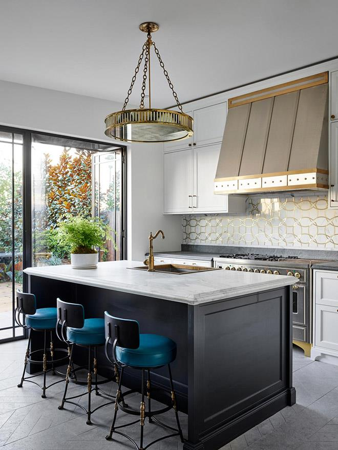 Sydney home by Thomas Hamel & Associates. Photograph by Anson Smart. From *Belle* October 2019.