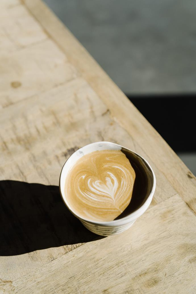A coffee made by Isaac Kara of Margaret River Roasting Company.