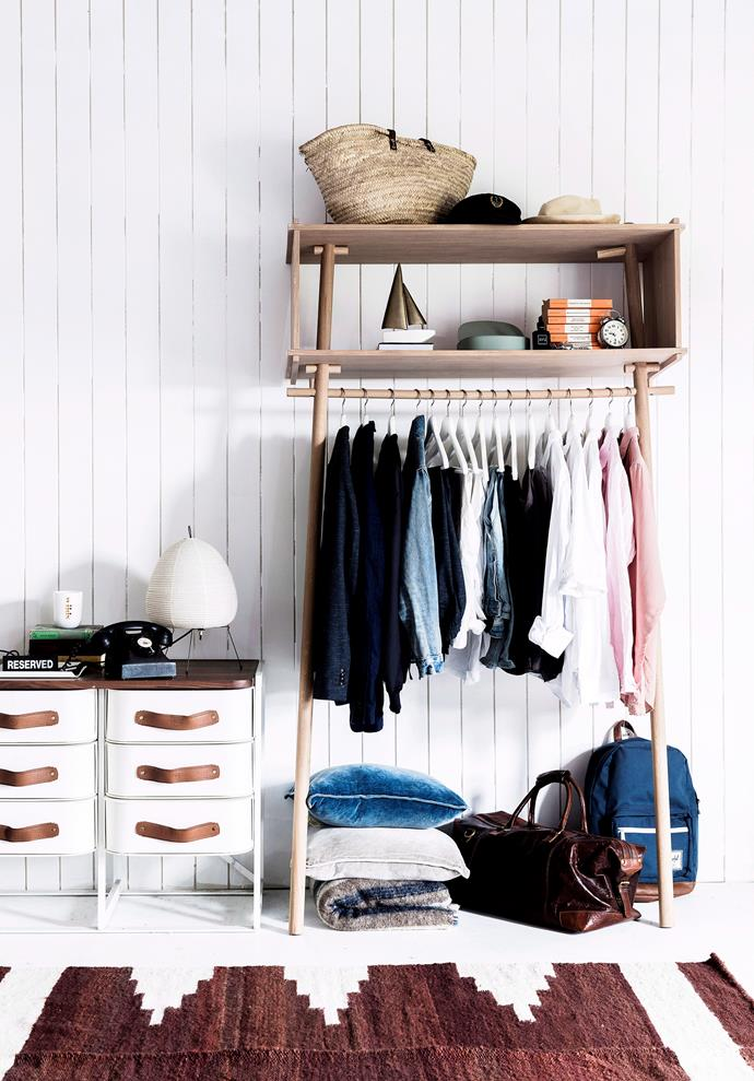 "Achieve the [minimalist wardrobe](https://www.homestolove.com.au/minimalist-wardrobe-6493|target=""_blank"") of your dreams and make some cash while you're at it."