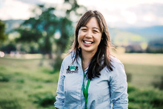 Wool is a way of life for award-winning auctioneer Samantha Wan.