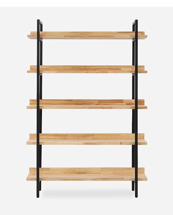 "Showcasing wood shelving contrasted against black metal framing, the Albert bookshelf rises with a slim-line and contemporary appeal. Albert tall bookshelf, $539, available at [Castlery](https://www.castlery.com.au/products/albert-bookshelf-tall-new?quantity=1&gclid=CjwKCAiAx_DwBRAfEiwA3vwZYin041GGxZB0JOmuB5IPNSM8AoCLN34U23alnodmk9stzcVUKne7vRoCth4QAvD_BwE/|target=""_blank""|rel=""nofollow"")"