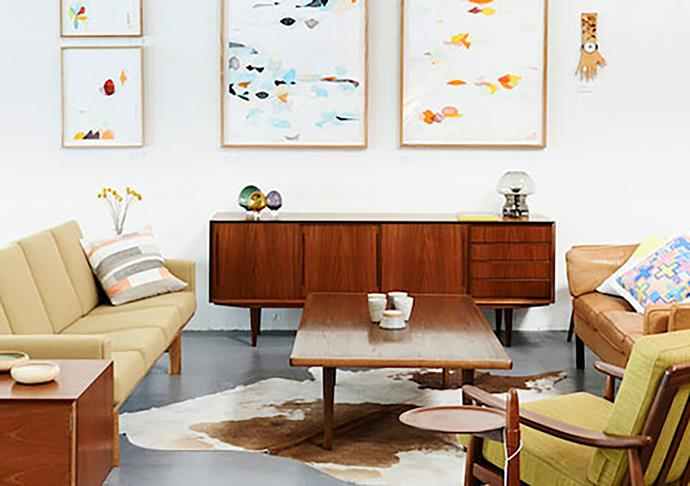 "**MODERN TIMES** <br> For those not based in Melbourne, Modern Times' online sector is perfect for getting your hands on special interior pieces. They uniquely pair vintage European design furniture with contemporary Australian art and design. <br> *[moderntimes.com.au](https://www.moderntimes.com.au/|target=""_blank""