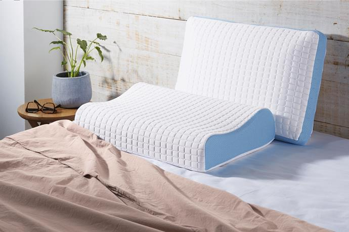 Gel-Infused Talalay Latex Pillow, $39.99.