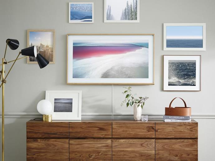 "**[Samsung The Frame QLED, from $1749](https://www.samsung.com/au/tvs/the-frame-ls03r-global/QA65LS03RAWXXY/|target=""_blank""