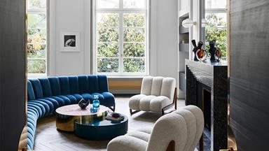 A design duo's glamorous, contemporary apartment in Paris
