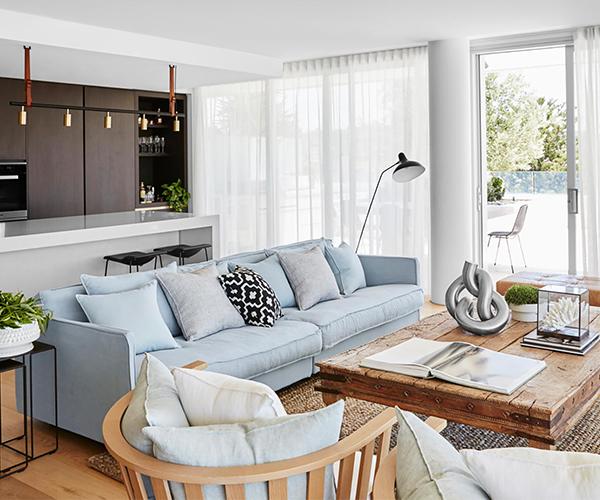 A luxurious Bondi Beach penthouse with a coastal European feel