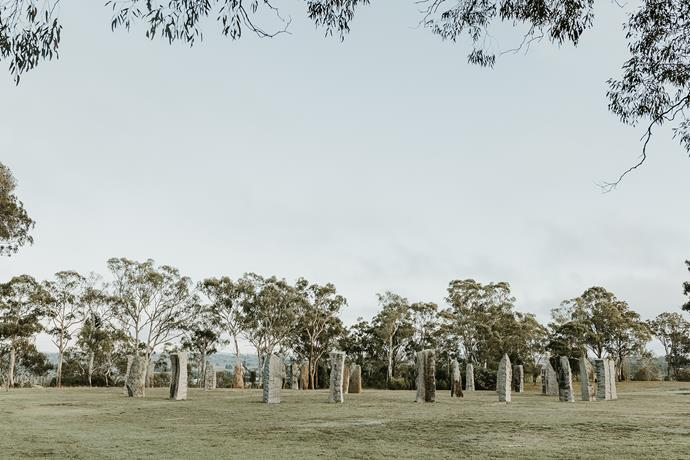 The Australian Standing Stones is the national monument to Celtic people, past and present.