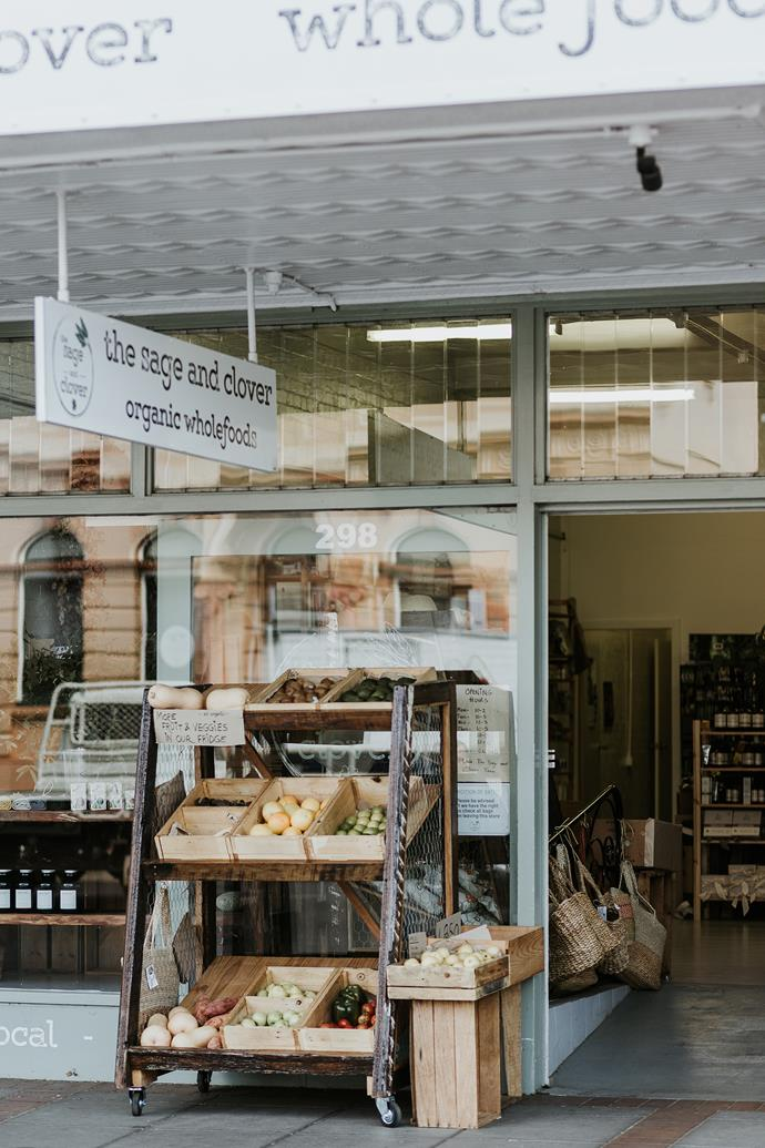The Sage and Clover has a great range of organic and local wholefoods.