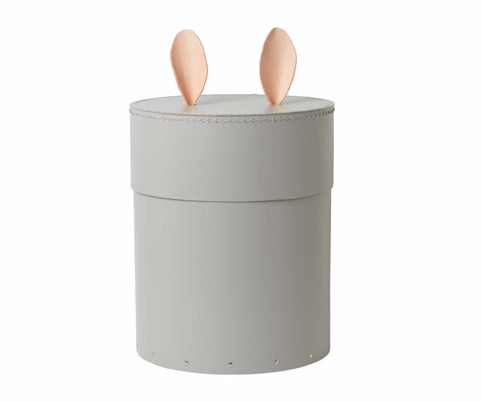 "Ferm Living 'Rabbit' storage box, $149, [Designstuff](http://www.designstuff.com.au/|target=""_blank""|rel=""nofollow"")."