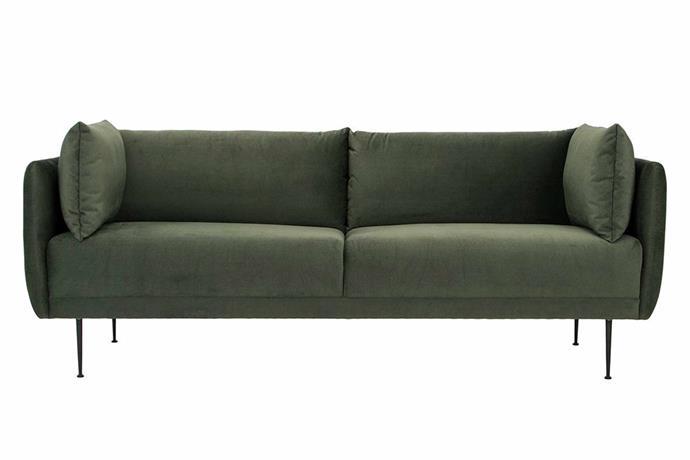 "**Memphis three-seater sofa, $1795, [Life Interiors](https://www.lifeinteriors.com.au/furniture/living-room/sofas/life-interiors-memphis-3-seater-sofa|target=""_blank""|rel=""nofollow"").**"