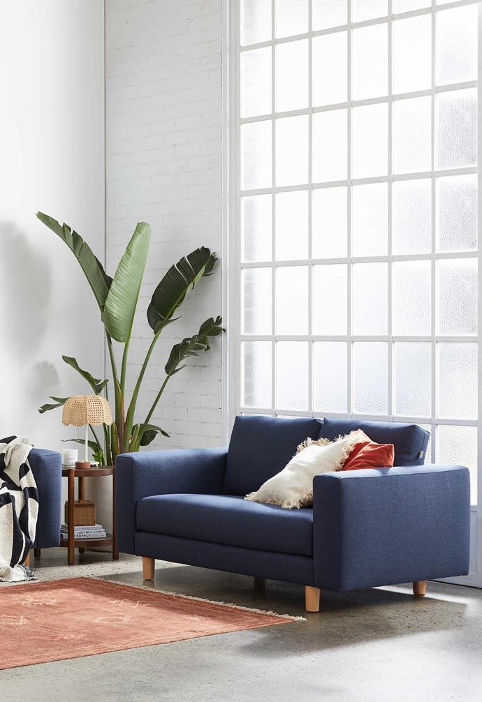 "The [Koala sofa's](https://au.koala.com/products/koala-sofa|target=""_blank"") slender timber legs make it ideal for small spaces."