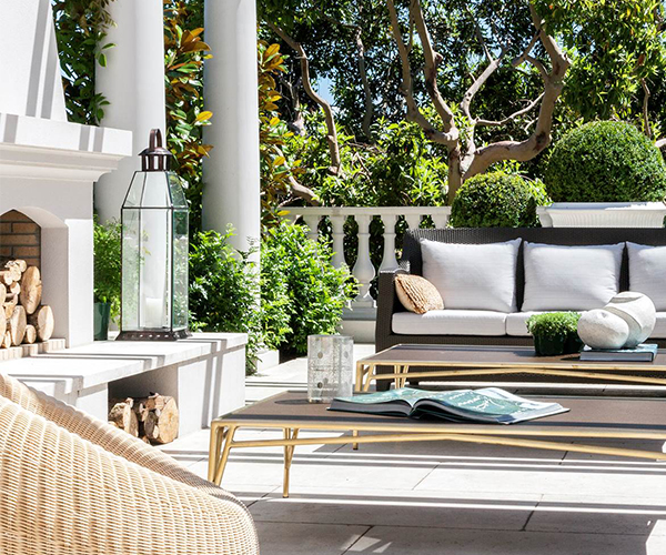 8 luxurious outdoor living rooms | Belle