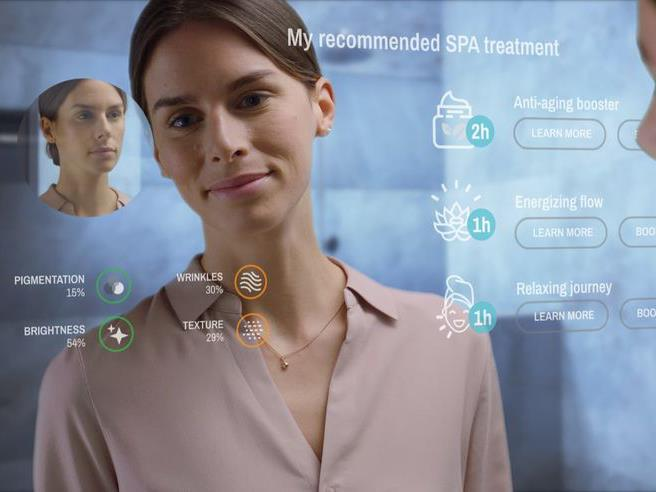 "Numerous companies are working on Smart Mirrors (with some already available) including this customisable one by [Poseidon](http://www.care-os.com/poseidon/|target=""_blank""