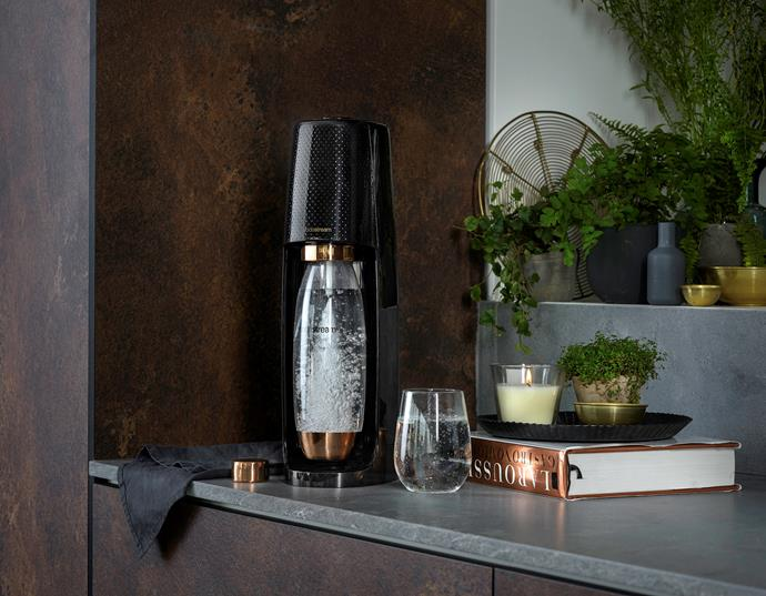 SodaStream have a range of colours and styles to choose from.