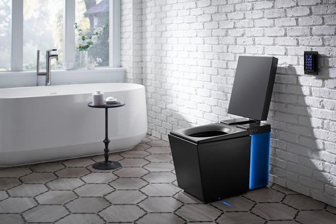 In the future, you won't have to take your mobile or book to the bathroom because your $10,000 Kohler toilet will have all the entertainment you need, just ask it.