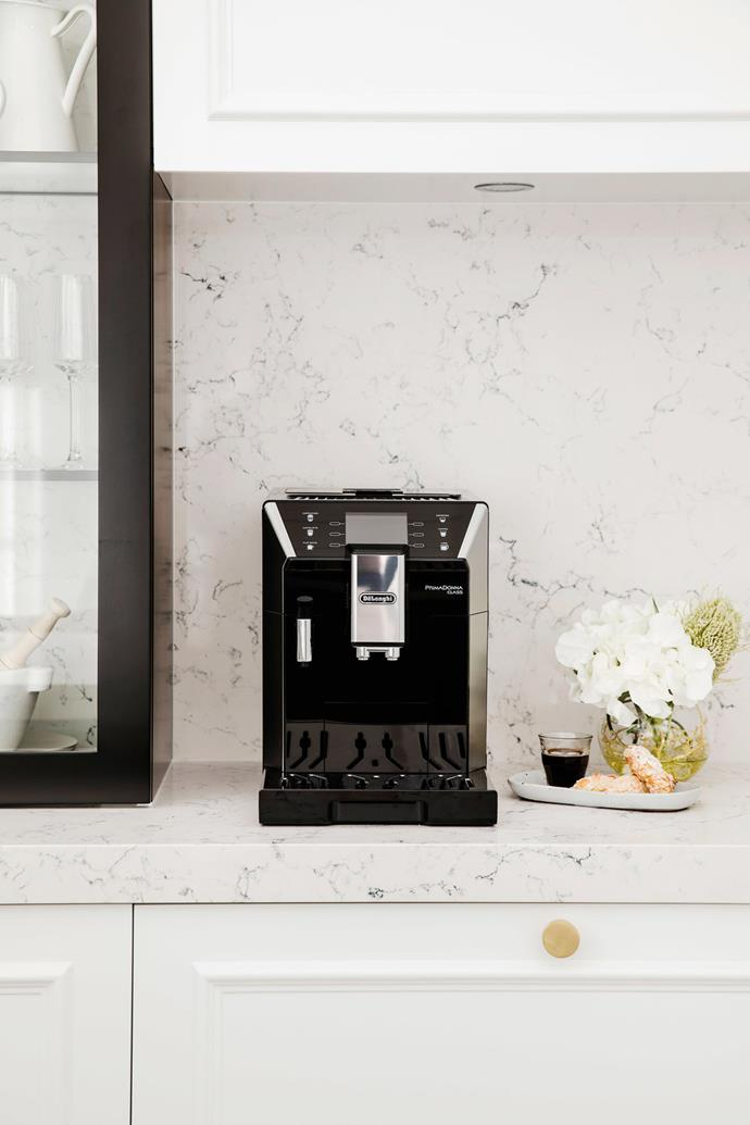 """High-tech models like the [DeLonghi PrimaDonna Elite](https://www.delonghi.com/en-au/products/coffee/coffee-makers/fully-automatic-coffee-machines/primadonna-elite-ecam-65055ms-0132217032