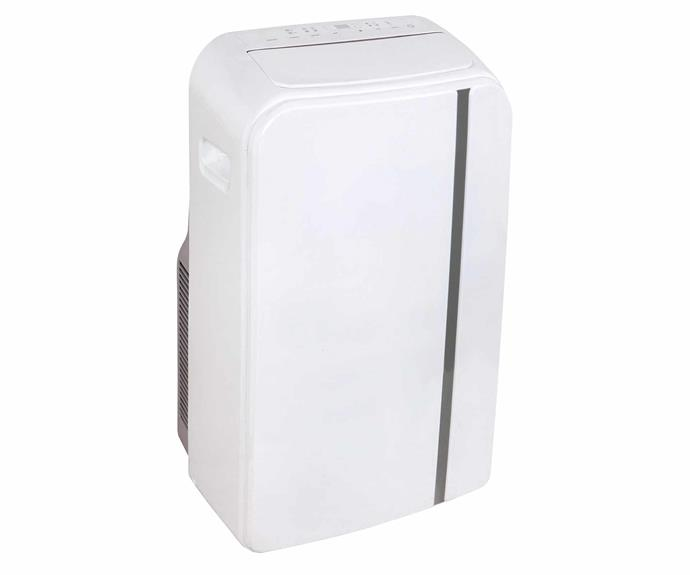 "Esatto 4.1kW portable air-conditioner in White, $599, [Appliances Online](https://www.appliancesonline.com.au/|target=""_blank""