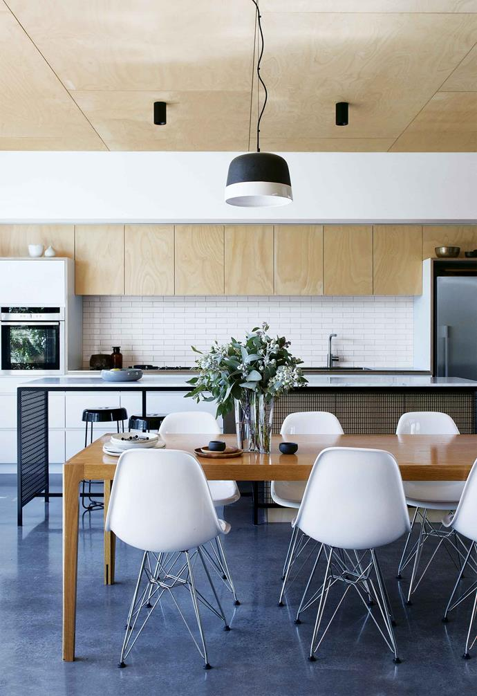 """A close relationship with their builders helped this creative couple's dreams come to life in this [industrial-style home](https://www.homestolove.com.au/industrial-warehouse-home-fremantle-17252