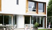 A clever weatherboard home extension transformed this abode