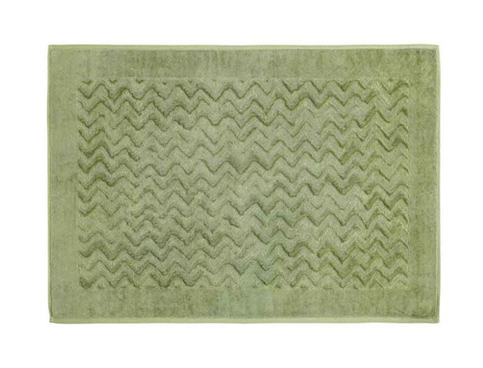 "Missoni home Rex bath mat in colour 65, $185, from [top3 by Design](https://top3.com.au/|target=""_blank""
