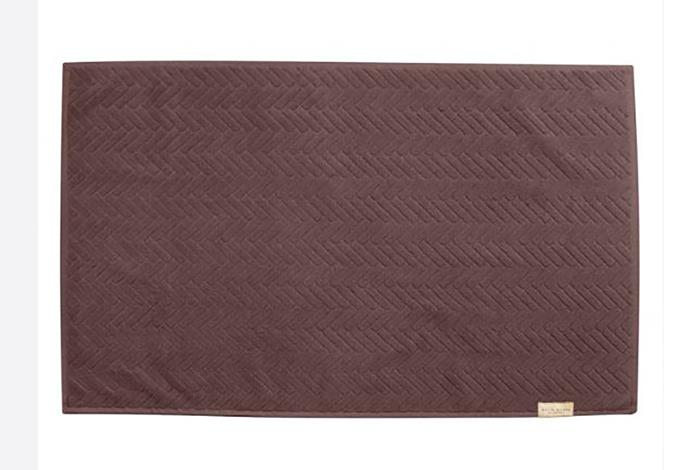 "Mette Ditmer brick bath mat in mauve, $35, from [Designstuff](https://www.designstuff.com.au/mette-ditmer-brick-bath-mat-50x80cm-mauve|target=""_blank""|rel=""nofollow"")"
