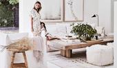 Stylist Romi Weinberg's modern rustic home