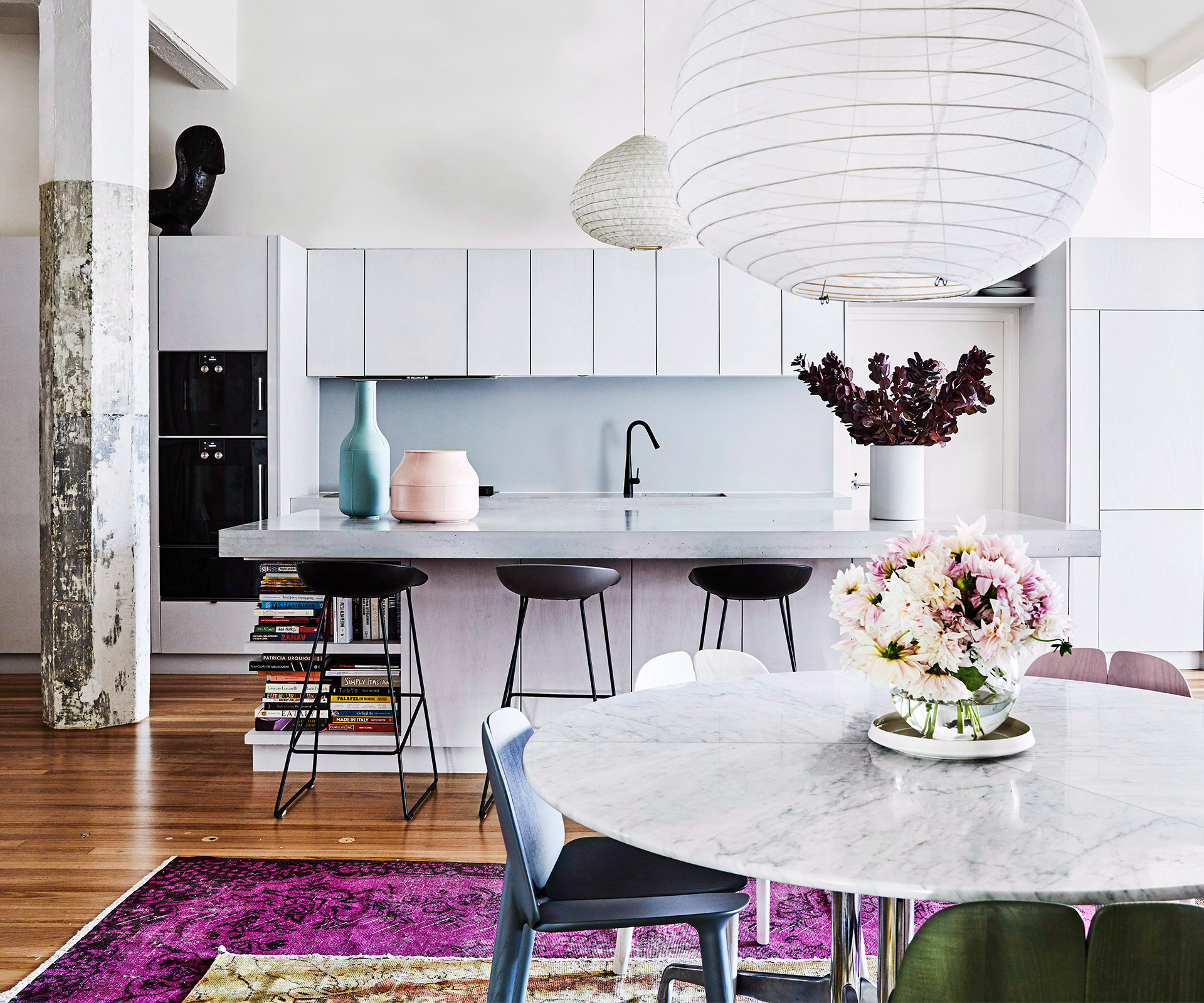 Paint colours and tricks to make a small room feel bigger