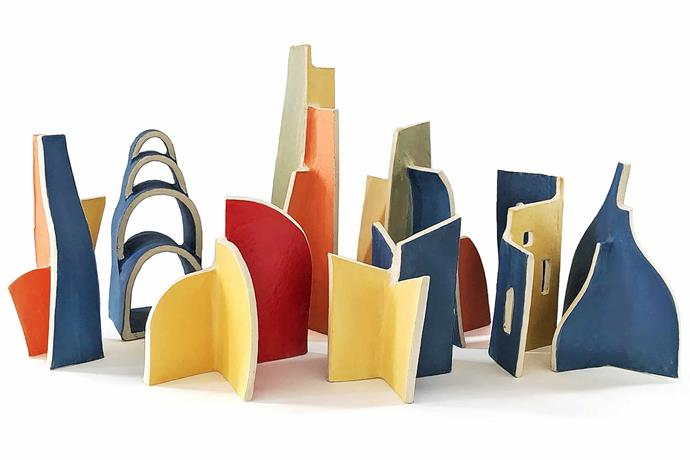 "**Natalie Rosin; Sculptor, Sydney**<br><br>Working with a temperamental material like clay might seem counterintuitive for the exacting mind of an architecture student, but for Natalie Rosin, who undertook a ceramics subject in the last two years of her study and never looked back, the unpredictability was strangely attractive. <br><br>""I don't know why I chose clay, but it's like family; you can't choose them yet you unconditionally love them."" Although she put aside a career in architecture to pursue art full-time in 2017, her background still has a strong influence on her practice, with Modernist architects such as Le Corbusier, Harry Seidler and Robin Boyd informing her design aesthetic. What Natalie loves most about creating art is the process. <br><br>""The constraints of clay really interest me,"" she says. ""I love how the material has its own language. Sometimes it's an argument between what is possible, what gravity prescribes and what I envision in my mind."" Not just beautiful sculptures, Natalie's diminutive designs (some fitting into the palm of your hand and costing less than $100) allow you to take home a little piece of Australia's architectural history. <br><br>*Natalie's next exhibition is *Endangered + Extinct*, at the Australian Design Centre in Darlinghurst, Sydney, from March 26 to May 27; visit [natalie-rosin.com](http://www.natalie-rosin.com/