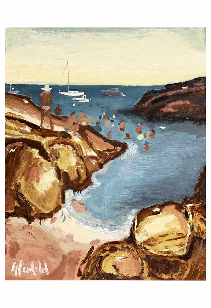 "**Gabrielle Penfold; Painter, Sydney**<br><br>Like postcards from places you'd rather be, Gabrielle Penfold's works are an exercise in longing. Inspired by life's simple pleasures – trips to sun-drenched destinations, personal journeys through old historical tomes and long lunches with friends, it's impossible not to feel moved by her joyful evocation of the everyday. <br><br>""I am fascinated by history, so that does become a huge influence,"" she says. ""However, increasingly my travels have informed my work. I explore the myths and legends of the places I visit and often work them into my art."" Her clay work and unique oil paintings (priced up to $8500) are ""an expression of all that is ephemeral, beautiful and fragile in the natural world."" <br><br>While she only started showing her work three years ago, Gabrielle is excited for what the future holds. ""As a young female artist, I'm becoming braver at sharing my voice. I feel so privileged to do this and think it's important I do it with thought and respect."" <br><br>*Gabrielle's next group show is Earth Matters at [Clare Gallery](https://www.claregallery.com.au/